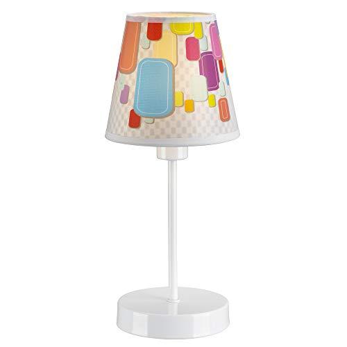 Wonderlamp W-A000128 tafellamp voor kinderen, snoep, meerkleurig