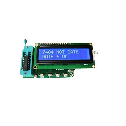 Kompakt IC-testare 74 40-serie logiska grindar kan bedömas som bra eller dåliga