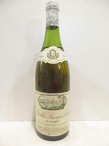 chablis robert vocoret premier cru blanc 1988 - bourgogne
