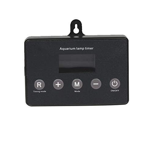 YEEWA Aquarium Light Timer, Aquarium Light Controller und Dimmer LED Light Timer Digital LCD Timer
