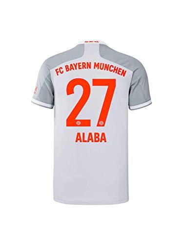 FC Bayern München Kinder Away-Trikot Auswärts Saison 2020/21, Gr. 128, David Alaba