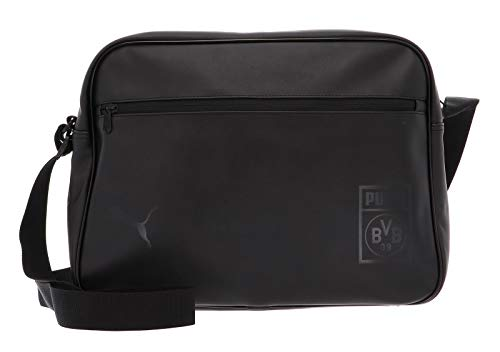 PUMA BVB Shoulder Bag Tasche, Black, UA