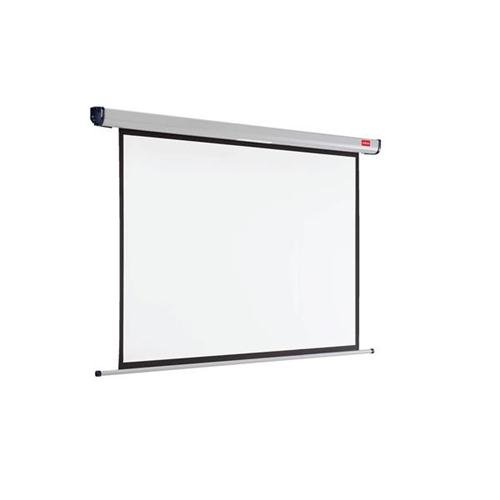 Nobo Roll-Leinwand Wand- oder Deckenmontage 2400x1600mm Bildformat 16:10