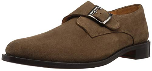 Carlos by Carlos Santana Men's 1960 Monk-Strap Loafer, Honey Brown, 7 D US