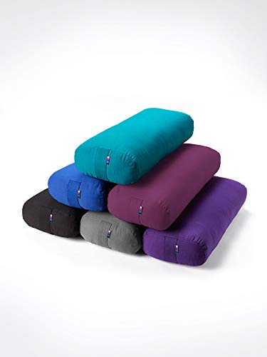 Yogamatters Rectangular Yoga Bolster (Purple)