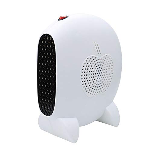 Fan Heater Energy Saving Heater Small Heater Overheating Toggle Protection, For Home, Office, Bathroom, Baby Christmas Best Gift (Color : White)