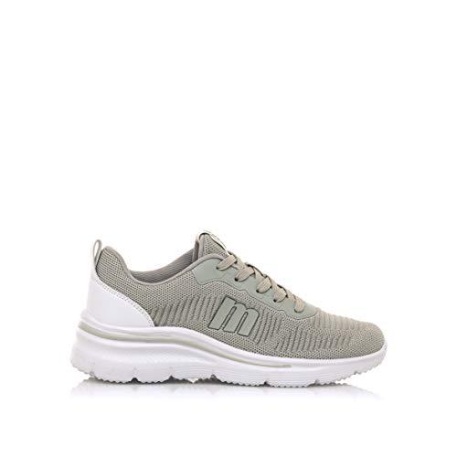 MUSTANG Damen SOMO Leichtathletik-Schuh, Knit Gris, 41 EU
