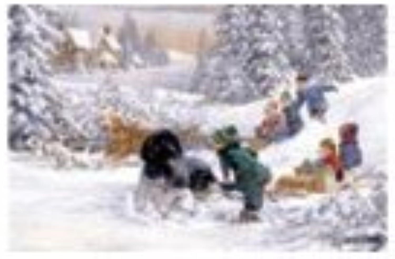 Perfalock Puzzle 1000 Don't Stop Now Winter Snow Scene Puzzle Wrebbit