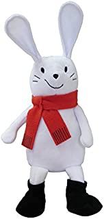 MerryMakers Bunny Slopes Plush Doll, 12-Inch