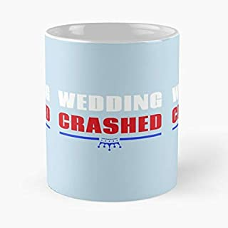 Funny Wedding Crashed Tee Harry Megan Classic Mug - The Coffee Mugs For Halloween, Holiday, Christmas Party Decoration 11 Ounce White-hiholden.