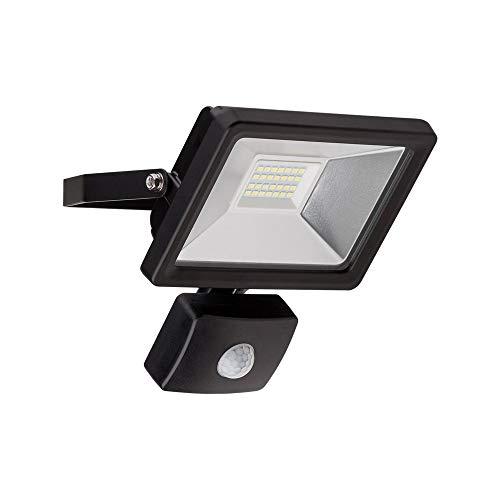 Goobay 58999 Projecteur LED D'Extérieur avec Détecteur de Mouvement, 20 W Puissance Absorbée