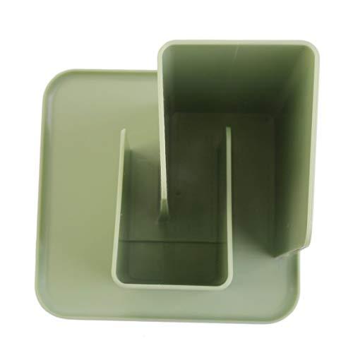 MOHAN88 Caja de Almacenamiento de Control Remoto de Escritorio Simple Organizador de cosméticos Cajas de Almacenamiento Sunbries para Mesa de Centro - Verde Claro