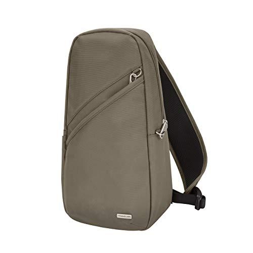 Travelon Anti-Theft Classic Sling Bag, Nutmeg