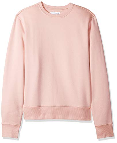 Mens Pink Crew Neck Sweater