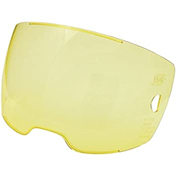 ESAB ESAB - 0700000803 5 Each Amber Front Cover Lens for Sentinel A50 Helmet