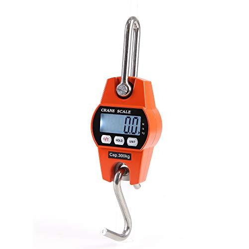 Báscula industrial 300kg precision gancho digital,Roeam Balanza electronica bolsillo portatil Escala mini con gancho para colgar
