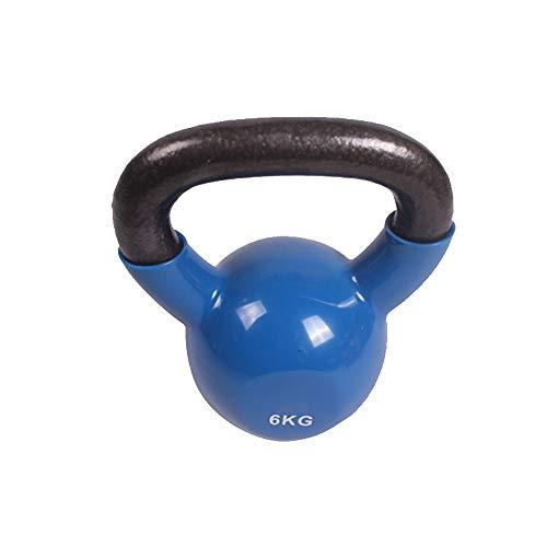 Equipo de entrenamiento SHPING Kettlebells, Mujer Pesas, Home Equipos De Gimnasia, Yoga, Pilates Culturismo, Mancuernas De Los Hombres De (Size : 6 kg)