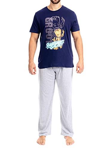 Marvel Pijama para Hombre Guardianes de la Galaxia X-Large
