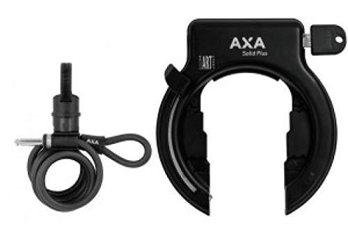 Antirrobo cuadro Axa Solid Plus negro