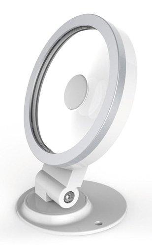 MKC Lampe à LED IP65 pour extérieur avec télécommande, Blanc