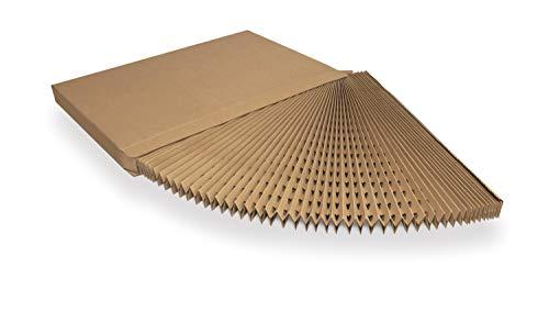 E-Filters CPLEMARRON.900.10 Cartón plegado, Marrón, 900mm 10m2, 900
