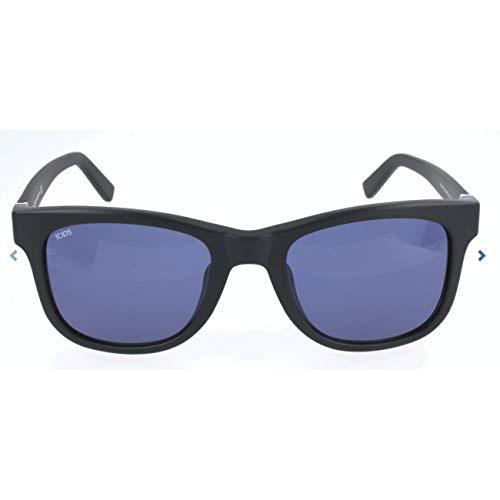 TOD'S TO0164-F TOD'S zonnebril TO0164-F rechthoekig zonnebril 54, zwart