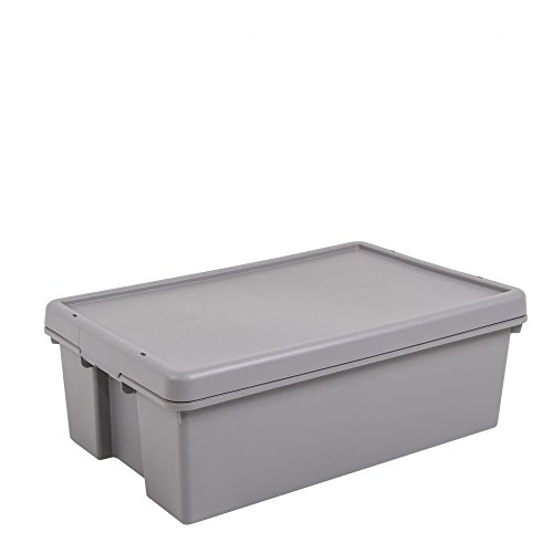 Wham Aufbewahrungsbox mit Deckel, 36 Liter, 4 Stück, 445580