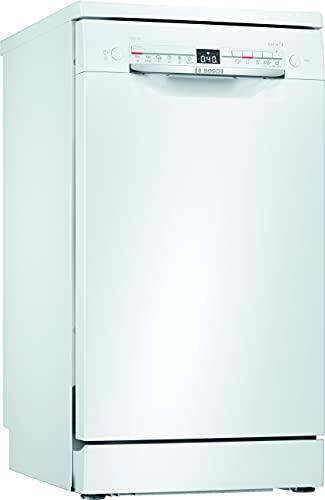 Bosch Elettrodomestici SPS2HKW59E Serie 2, Lavastoviglie da libero posizionamento, 45 cm, bianco