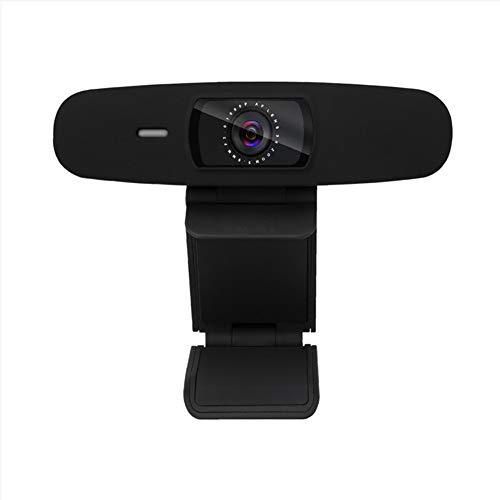 hehsd0 HD Webcam 720P multifunción en línea de trabajo video conferencia y reproducción en vivo con clip de enfoque automático B para computadora, PC, ABS, oficina en casa, gran angular