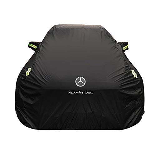 Exterior Accessories Car Cover Compatible with Tesla Model X Car Cover Tarpaulin Full Cover Outdoor Full Coverage All Weather Waterproof UV Tarpaulin Color : Blue, Size : Oxford Cloth - Built-in lint