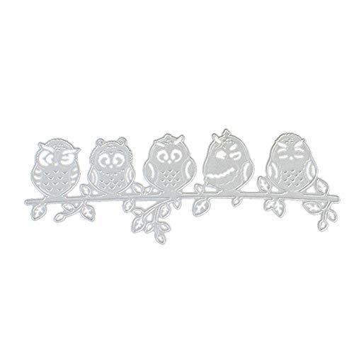 Metallschneideisen Tier Eule Handgemachte Schneiden Stencils Diy Scrapbooking Schneideise Papier Karten Pop-up