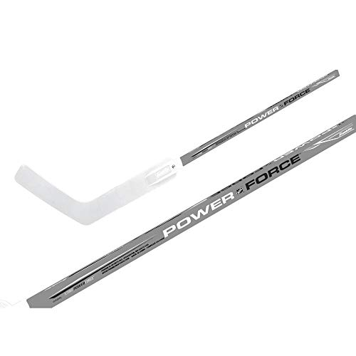 Franklin Sports Street Hockey Goalie Stick - Powerforce Junior Goalie Stick - Wood Shaft with ABS Blade - Junior 48