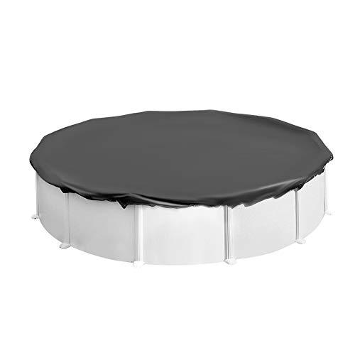 XQK Cubierta Protectora de Piscina Cubierta de Marco Circular de Lona Impermeable Plegable Redonda para Piscina, Jardín, Automóvil 360 * 20 cm/141.73 * 7.87inch
