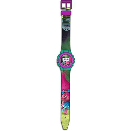 TROLLS Reloj Digital en Blíster (Kids TR17047)
