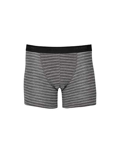 Dilling Boxershorts für Herren aus 100% Bio-Merinowolle Grau L