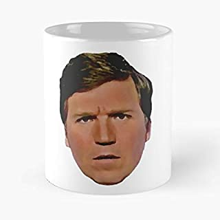 You Can't Cuck The Tuck - Tucker Carlson Classic Mug Funny Coffee Mugs For Halloween, Holiday, Christmas Party Decoration 11 Ounce White-hiholden.