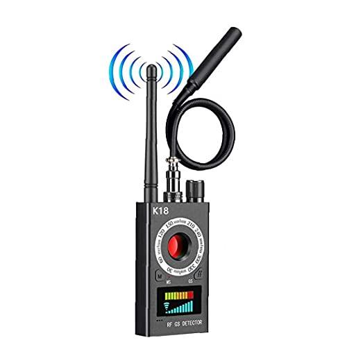 Bug Detector de señal de la cámara del Dispositivo Detector de Errores de Ajuste Buscador Anti espía Detector localizador GPS inalámbrico para el GPS de Seguimiento de gsm Escuchar Negro