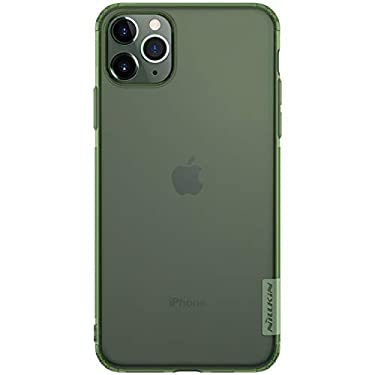 """Nillkin Case for Apple iPhone 11 Pro Max (6.5"""" Inch) Nature Series Back Soft Flexible TPU Green Color"""