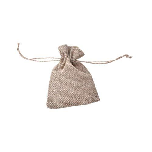 Csheng Jabones para Regalar Bolsas Arroz Boda Navidad Bolsas de Regalo Decoración de Bolsas de arpillera Árbol de Navidad Decoración Bolsas de Muselina 12 pcs