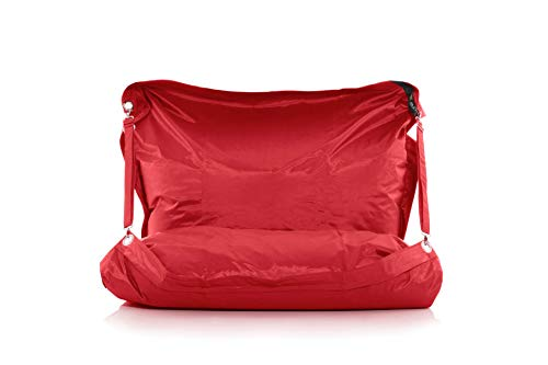 Smoothy Outdoor Sitzsack Supreme, Zinnober-Rot