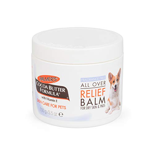 Palmer's for Pets Cocoa Butter Fragrance Free All Over Relief Balm for Dogs | Dog Skin Soother Balm,...