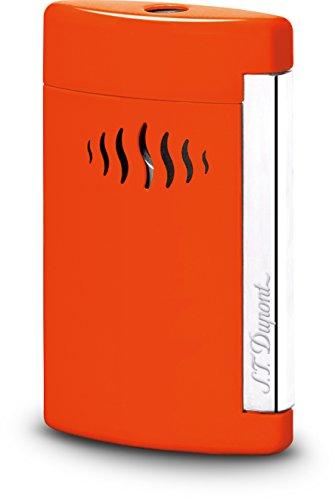 S.T. Dupont D-010509 - Accendino Minijet, colore: Arancione corallo