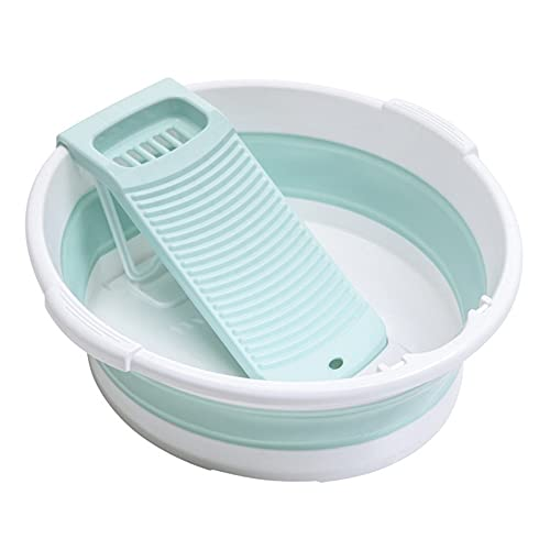 ROTAKUMA Limpiador De Ropa Plegable Limpieza Portátil Cleaner Accesorios De Baño (Color : Green)