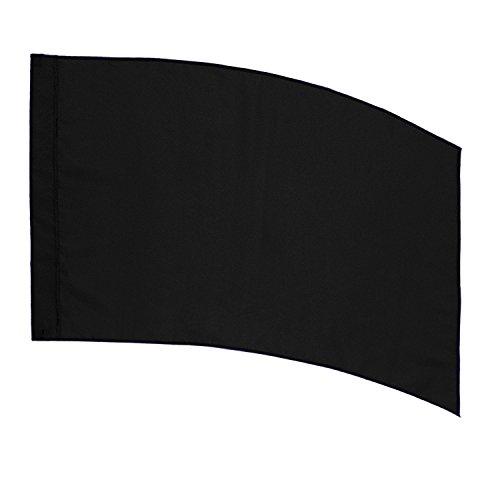 DSI Color Guard Practice Flag (PCS) - Curved Rectangle - Black
