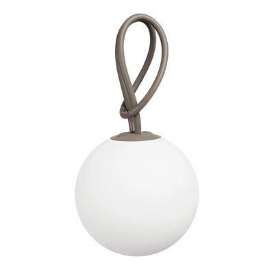Fatboy® Bolleke Taupe | Hängelampe für Innen & Außen | ohne Kabel | aufladbar mit USB