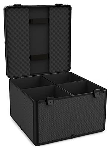 Audibax   Flight Case PRO-PAR   Maleta DJ para 4 Focos PAR 56  ...