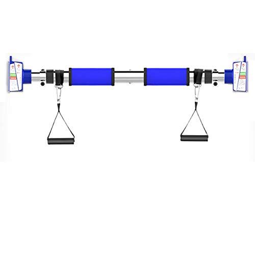 Barra Dominadas Sin Tornillos Barra De Pull-up, Barras Y Anillos Horizontales De Acero Ajustables para El Hogar Portátil, Equipo De Ejercicio para El Hogar (Size : 72-93CM)