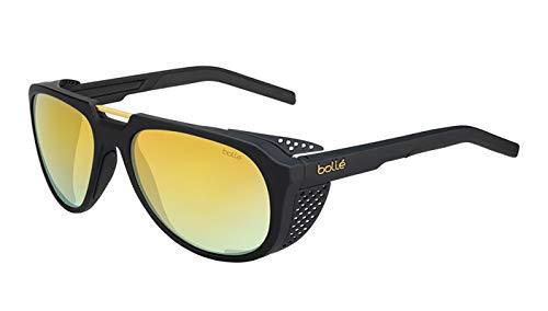 bollé Cobalt-Gafas de Sol, Color Negro y Dorado, Unisex Adulto, Mate Black Gold, M