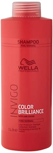 Wella Professionals Invigo Color Brilliance Color Protection Shampoo Fine/Normal, 1000 ml