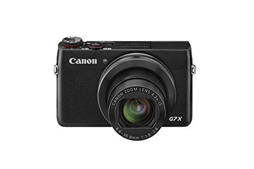 Canon PowerShot G7 X Digitalkamera (20,2 MP, 4,2x opt. Zoom, WiFi, NFC) schwarz